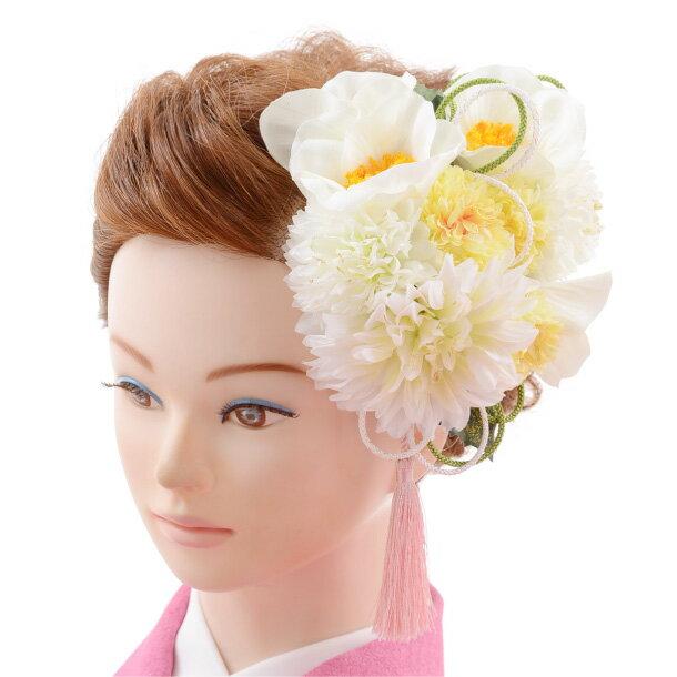 【着物 髪飾り】着物 髪飾り 花 和装用〔振袖 髪飾り 花〕振袖レンタルなどにおすすめの髪飾り1cj0101/結婚式用髪飾り【入学式 卒業式 結婚式】(10P03Dec16)