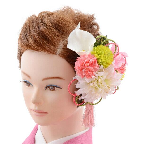 【着物 髪飾り】着物 髪飾り 花 和装用〔振袖 髪飾り 花〕振袖レンタルなどにおすすめの髪飾り1cj0102/結婚式用髪飾り【入学式 卒業式 結婚式】(10P03Dec16)