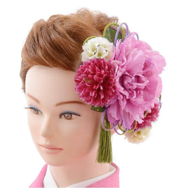 【着物 髪飾り】着物 髪飾り 花 和装用〔振袖 髪飾り 花〕振袖レンタルなどにおすすめの髪飾り1cj0107/結婚式用髪飾り【入学式 卒業式 結婚式】(10P03Dec16)