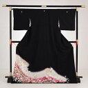 新入荷!5周年記念特別価格商品レンタル黒留袖(153cm〜168cm位)/着物/結婚式/貸衣装/貸衣裳/女...