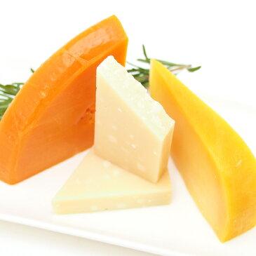 ミモレット12ヶ月・熟成ゴーダ・パルミジャーノレッジャーノのお試しハードチーズセット