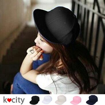 帽子 キャップ CAP つば付き ハット 小物 無地 レディース 【秋冬】 韓国 ファッション