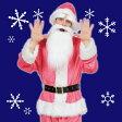 【メンズサンタ コスプレ】GOGOサンタさん(ピンク) [サンタクロース 男性用 コスプレ サンタ コスチューム カラフル クリスマス 衣装 メンズ]【867845】