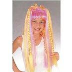 【激安価格】 【ハロウィン衣装・ハロウィンコスチューム・ハロウィン仮装】Child Funky Diva Wig (子供用ファンキー歌手のかつら)【50899】_HB