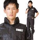 【ハロウィン コスプレ SWAT メンズ】MENコス スワット [SWAT 衣装 メンズ 警察 ポリス スワット コスチューム 男性 ハロウィン メンズ 衣装]【A-1906_881063】