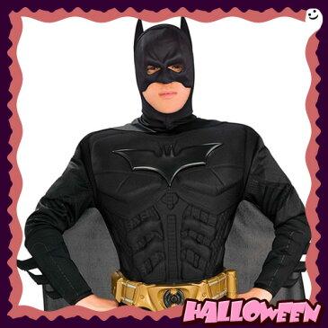 【ハロウィン 衣装 大人】(バットマン コスプレ 仮装) アダルト・デラックス・バットマン・ダークナイト・Lサイズ(Adult Dx. Batman Dark Knight[L])【_067176】