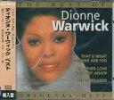 【ポイント5倍】ディオンヌ・ワーウィック ベスト・ヴォーカル・コレクション 輸入盤 CD