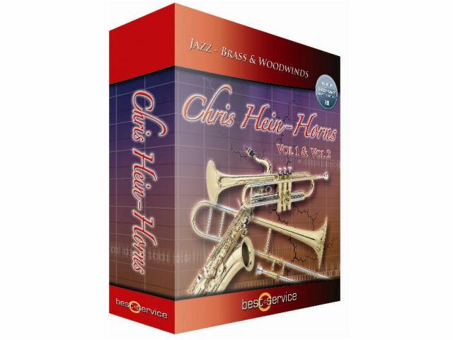 DAW・DTM・レコーダー, オーディオインターフェイス BEST SERVICE CHRIS HEIN HORNS VOL.2 SECTION INSTRUMENTS Vol.2