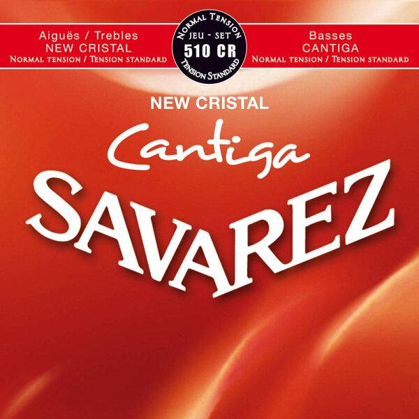 SAVAREZ510CR-NORMALTENSION-《クラシックギター用弦》 ネコポス