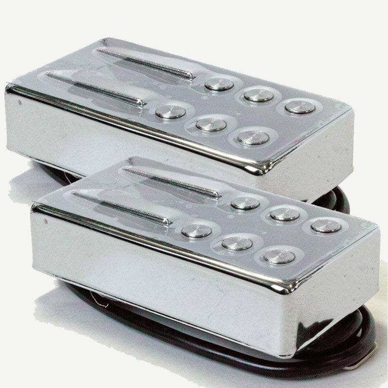 ギター用アクセサリー・パーツ, ピックアップ Railhammer Pickups Hyper Vintage Set Chrome HVI-B-CHVI-N-C
