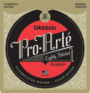 Pro・Arte Classical GuitarD'Addario EJ45LP Pro-Arte Lightly Polished Composite, Normal Te...