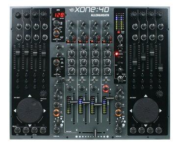 Allen & Heath XONE:4D《DJミキサー/オーディオインターフェイス/MIDIコントローラー》アレン&ヒース ゾーン【送料無料】【smtb-u】【次回入荷分ご予約受付中】