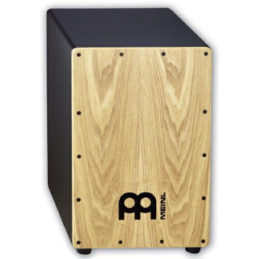 パーカッション・打楽器, カホン Meinl MDF Body Ash Frontplate MCAJ100BK-AS (with bag)MCAJ100BK-AS
