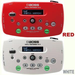 【ボーカル用マルチエフェクター】《ボス》BOSS VE-5 RD/WH《ボーカル用マルチエフェクター》【...