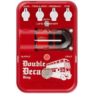 【エフェクター/ディレイ】《ヴォックス》VOX Tone Garage Double Deca Delay TG2-DDDL 《エフ...