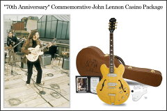 """全世界70本限定!! Made in USA!!Epiphone """"70th Anniversary"""" Commemorative John Lennon Casin..."""