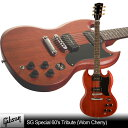 Gibson SG Special 60's Tribute (Worn Cherry)【スタンドセット付】【送料無料】【次回入荷予...