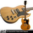Gibson SG Special 60's Tribute (Worn Natural)【スタンドセット付】【送料無料】