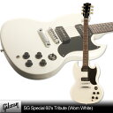Gibson SG Special 60's Tribute (Worn White)【スタンドセット付】【送料無料】【次回入荷予約...