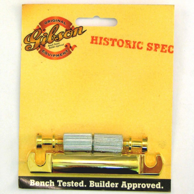 Gibson Gear GD Historic Aluminum LWTP-Gold [PTTP-080] 《パーツ・アクセサリー/ テイルピース 》【ギブソン純正】