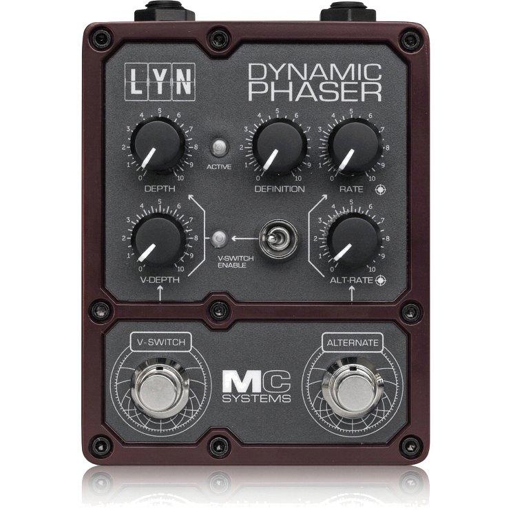 ギター用アクセサリー・パーツ, エフェクター MC Systems LYN Dynamic Phaser