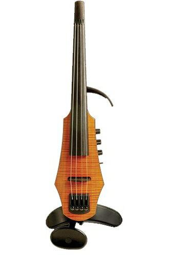 弦楽器, ビオラ NS Design CR4-AM CR Viola 4st Amber Solid-body, Polar PU, Dual Mode Preamp