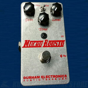 DurhamElectronicsMuchoBoosto《エフェクター/オーバードライブ》【送料無料】