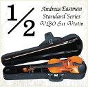 Andreas Eastman Standard series VL80 セットバイオリン (1/2サイズ/身長125cm〜130cm目安) 《バイオリン入門セット/分数バイオリン》 【送料無料】・・・