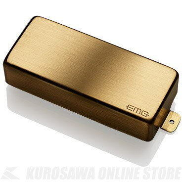 ギター用アクセサリー・パーツ, ピックアップ EMG ACTIVE HUMBUCKING PICKUPS 85-8H 8string Metal Cap Active Pickup(Brushed Gold)