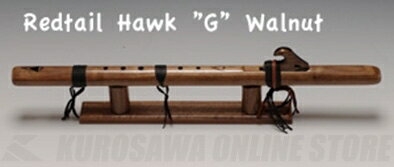 HighSpiritsFlutesレッドテール・ホーク101-Wkey/Gクルミ材598mm《インディアンフルート》