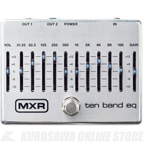 ギター用アクセサリー・パーツ, エフェクター MXR M108S 10 Band Graphic EQ