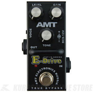 AMTE-Drivemini《エフェクター/オーバードライブ/ディストーション》【送料無料】