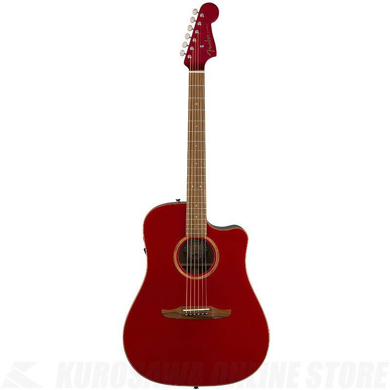 ギター, アコースティックギター Fender Acoustics Redondo Classic(Hot Rod Red Metallic)