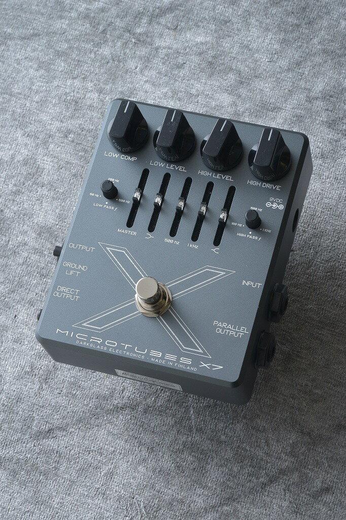 ギター用アクセサリー・パーツ, エフェクター Darkglass Electronics Microtubes X7