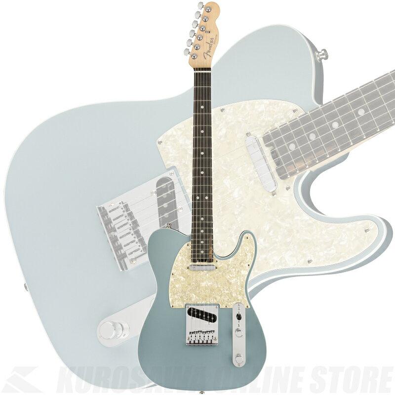 ギター, エレキギター Fender American Elite Telecaster, Ebony Fingerboard, Satin Ice Blue Metallic
