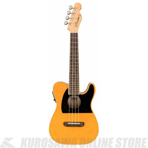 ウクレレ用アクセサリー・パーツ, その他 Fender Fullerton Tele Uke Butterscotch Blonde()