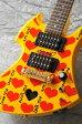 Burny YELLOW HEART Jr. ミニギター【送料無料】【X JAPAN hide】【次回入荷分ご予約受付中】