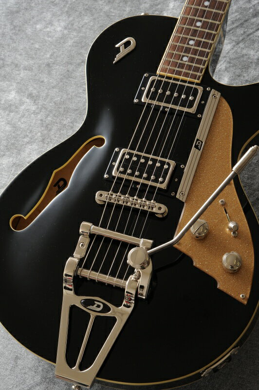 ギター, エレキギター Duesenberg Starplayer TV DTV-BK (Black)