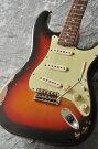 "FenderUSACustomShopTeamBuiltCustom1962StratocasterHeavyRelic""KurosawaCustomOrder""R75842(3-ColorSunburst)������̵����"