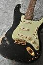 "FenderUSACustomShopTeamBuiltCustom1963StratocasterHeavyRelic""KurosawaCustomOrder""R59247(Black)������̵����"