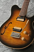 MUSICMAN Axis Super Sport Semi-Hollow Body HH trem Rosewood Fingerboard,Matching Headstock (Tabacco Burst)【送料無料】【受注生産品】