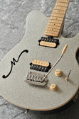 MUSICMAN Axis Super Sport Semi-Hollow Body HH trem Maple Fingerboard,Matching Headstock (Silver Sparkle)【送料無料】【受注生産品】