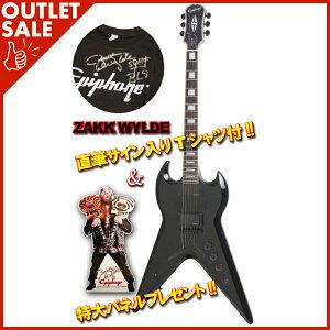 """【エレキギター】《エピフォン》Epiphone Zakk Wylde """"ZV Custom"""" 【サイン入りシャツ&特大パネ..."""