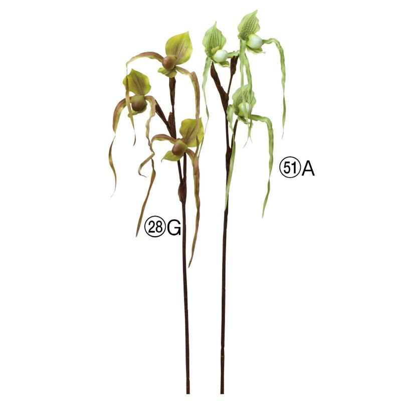 asca パフィオ(3輪) 花材 造花