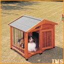 【送料無料】サークル犬舎 CL-1100 ブラウン【アイリスオーヤマ】 その1