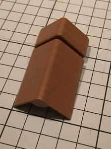 商品リンク写真画像2:楽天さんの巾木コーナーキャップ(ウッドワン A型巾木対応の巾木コーナーキャップ) ※巾木コーナーキャップを表から見た写真