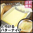 とろけるバターナイフ送料無料 バターナイフ おろしつき 削る 日本製 食洗機対応 ステンレス アーネスト 76513【D】【代引不可】《メール便で送料無料》