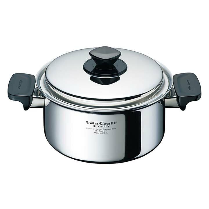 ヘキサプライ両手ナベ3.0L 6122 5260-000124両手鍋 鍋 調理器具 キッチン用品 ビタクラフト 【D】:調理器具専門店 i-cook