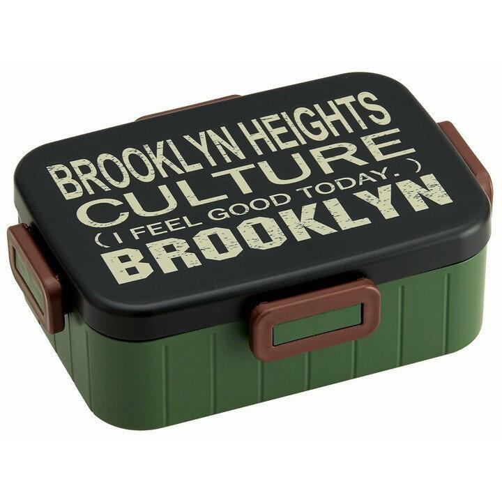 4点ロックランチボックス ブルックリン 900ml YZFL9弁当箱 大容量 べんとう箱 ランチ スケーター 【D】