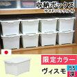 【収納ボックス】 限定カラーヴィスモ 55深 コロ付